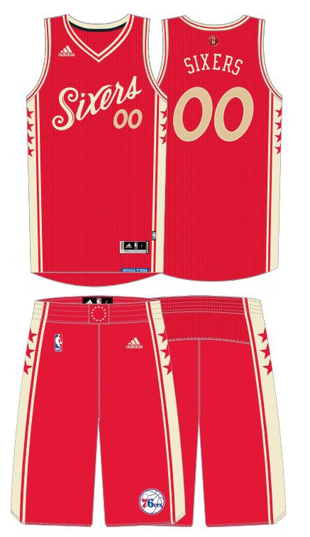 aafe6e319c0 The gold trip around the red base color gives the jersey an ornament-like  feel. Theres practically no remnant of blue