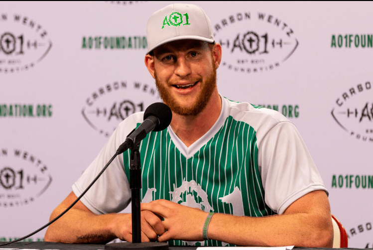 f85daa9f Carson Wentz Preaches The Power Of Giving Back At AO1 Foundation ...