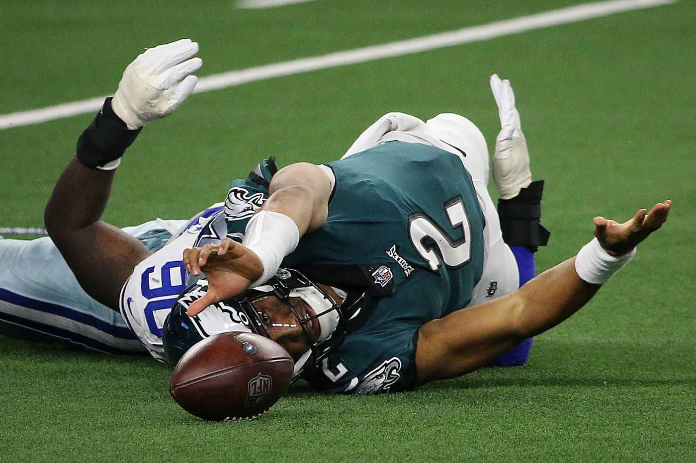 Eagles' Miles Sanders: 'Nobody liked the decision' to bench Hurts